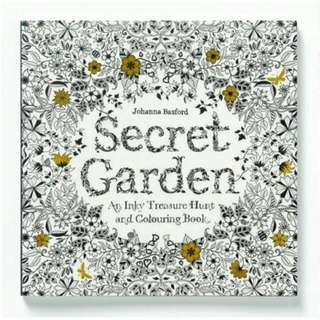 Secret Garden Adult Colouring Book by Johanna Basford (reserved)