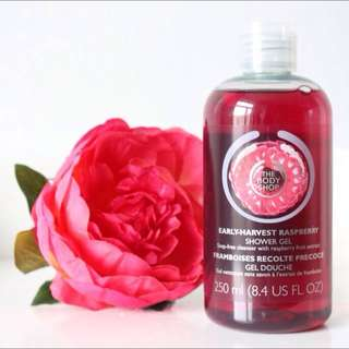 The Body Shop Early Harvest Raspberry Shower Gel