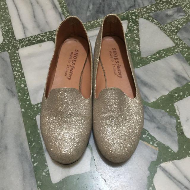 金蔥平底鞋✨23號