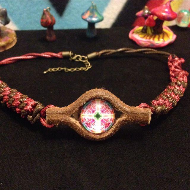 「神秘印加圖騰」極致工藝 手創南美風 真皮項鍊