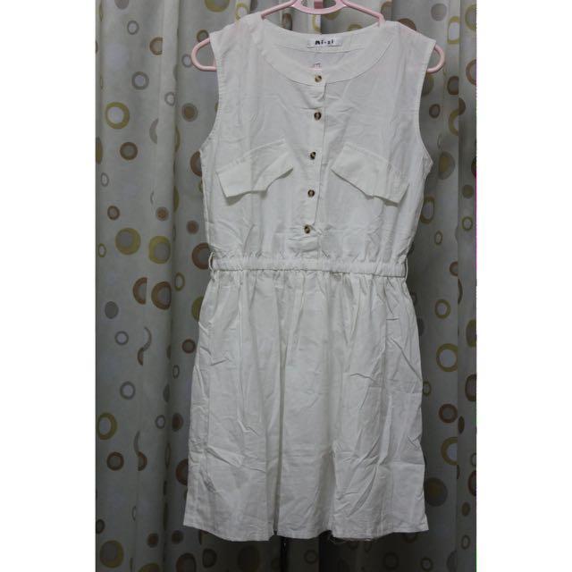 🔹全新 白洋裝