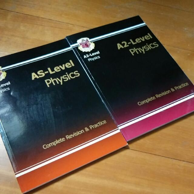 A LEVEL PHYSICS CGP Revision books