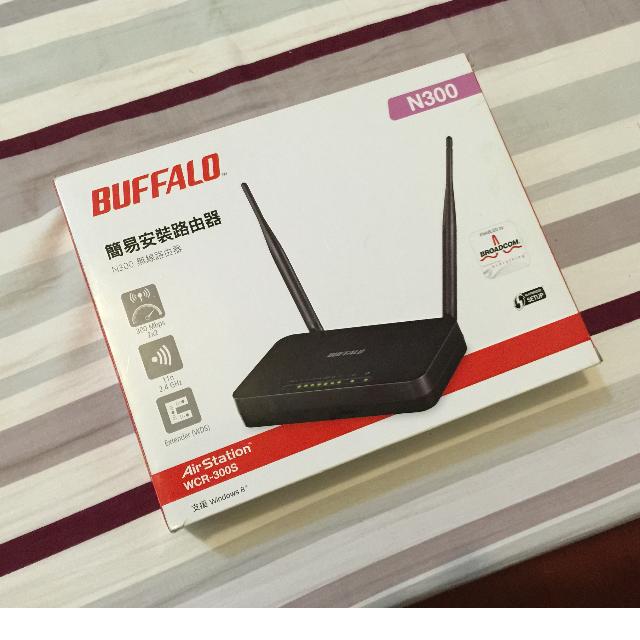 Buffalo WCR-300S 雙 5dBi 大天線 300Mbps 無線路由器