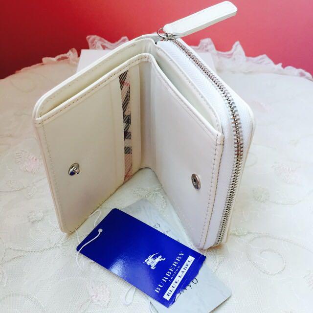 207dd9accc2f Burberry Blue Label Short Zipper Wallet (Brand New W Tag)