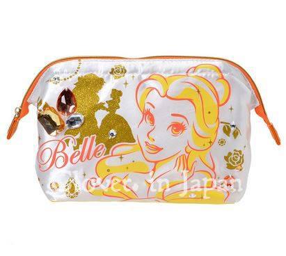 《Clover. in Japan 》現貨 Disney 日本 貝兒 Belle 化妝包