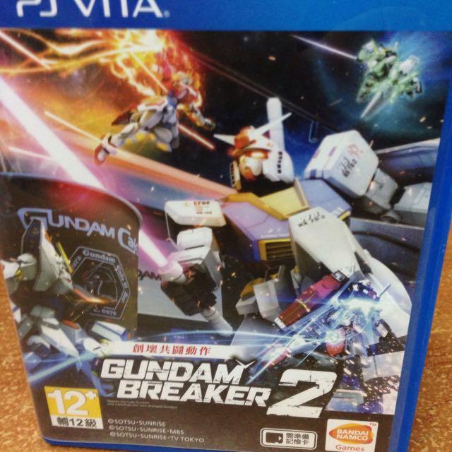 Gundam Breaker 2 Ps Vita