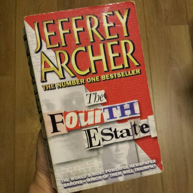 Jeffrey Archer The Fourth Estate