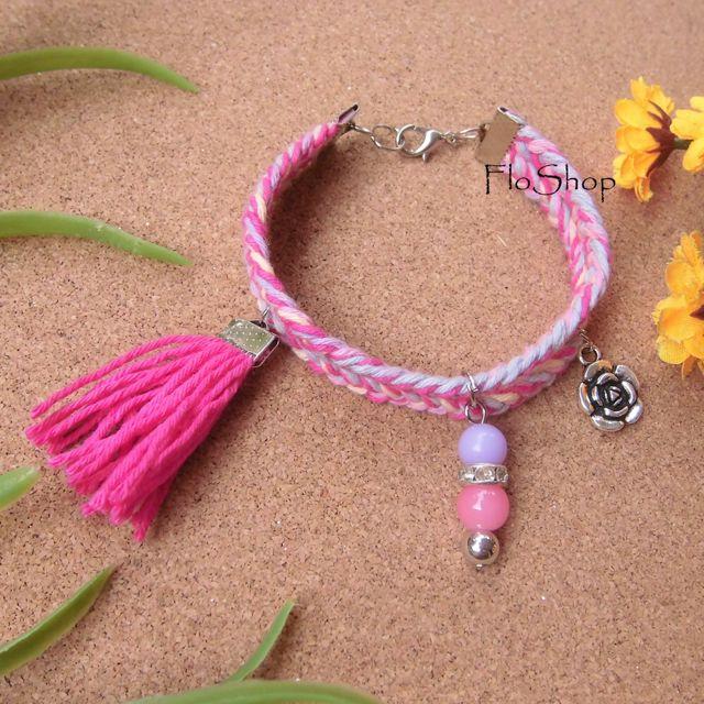 Rose Candy Bracelet