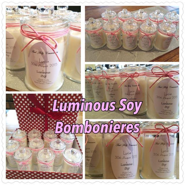 Soy Candle Bonbonieres