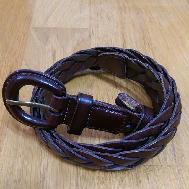 Uniqlo編織皮帶