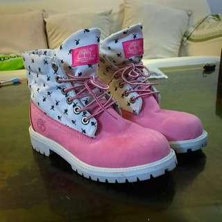 Timberland小粉紅