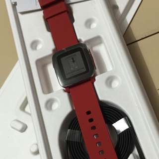 Red Pebble Time Un-used  2015