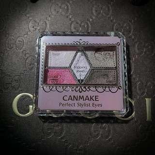 『二手』CANMAKE 完美色計眼影盤