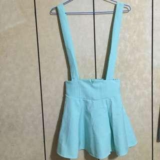 Tiffany綠吊帶裙💗