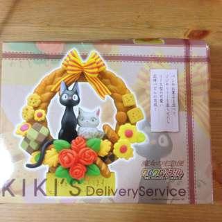 三鶯美術館 宮崎駿 魔女宅急便 黑貓 kiki 琪琪 組合擺飾 家飾(已降價)