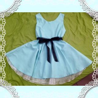 (7/14已寄送)TIFFANY綠Lady小洋裝