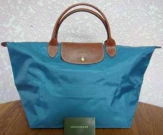 Longchamp土耳其藍(小)