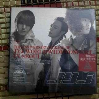 JYJ The Beginning The 1st Album [Original] #XMAS25
