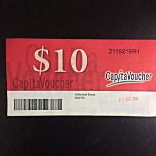 $70 Worth Of Capital Land Vouchers
