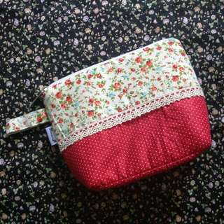 Mixed Pattern Pouch