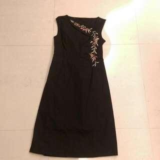 黑色典雅洋裝