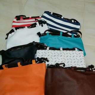 Drawstring Sling Bag