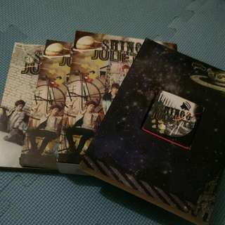 (保留)降!SHINee 日版JULIETTE 專輯 A版(CD+DVD+MP3+寫真本)
