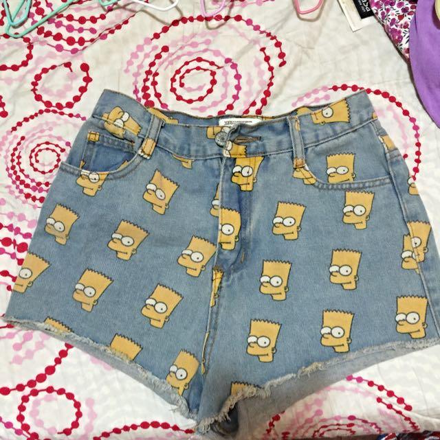 辛普森短褲