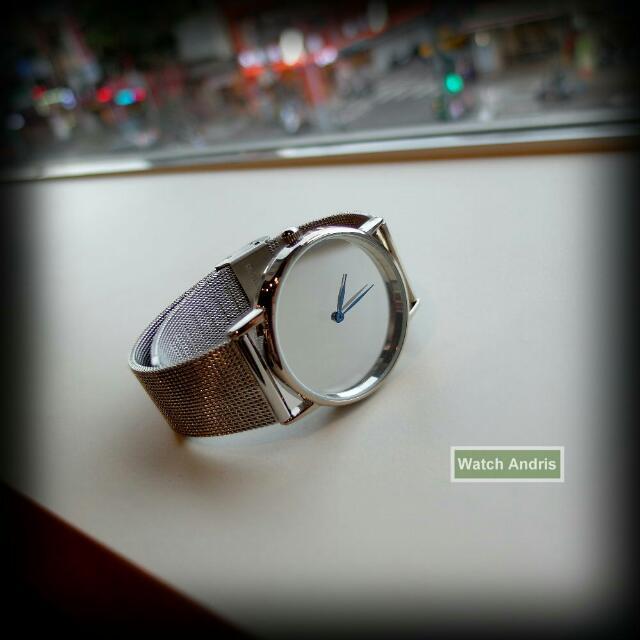 鏡面手錶 (鐵帶)