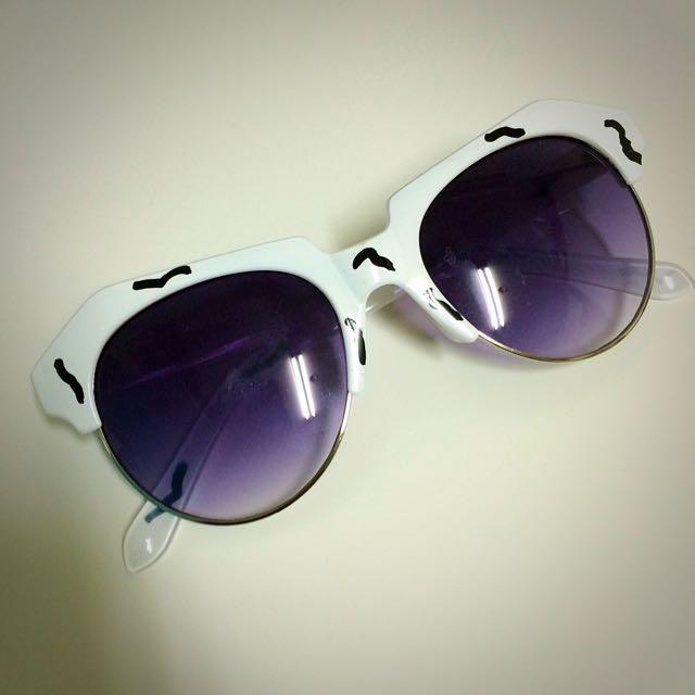 框框 有事 太陽眼鏡