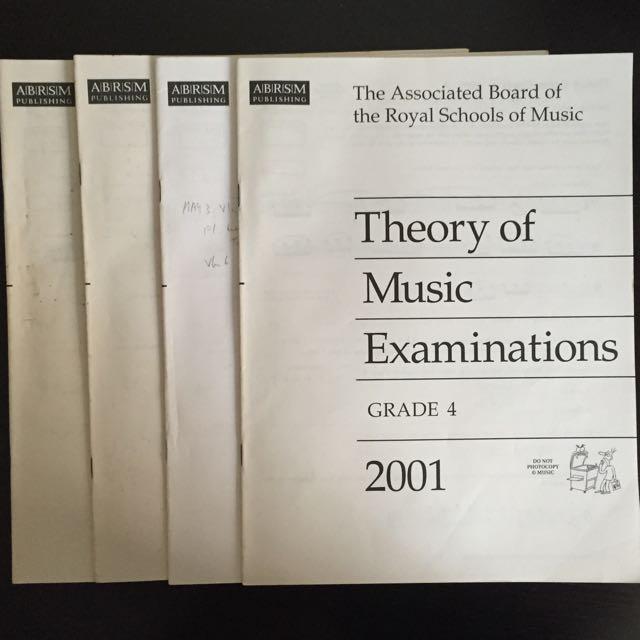 ABRSM Music Theory Past Year Examination Paper Grade 4