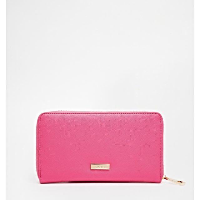 BNWT ALDO Pink Zip Around Wallet