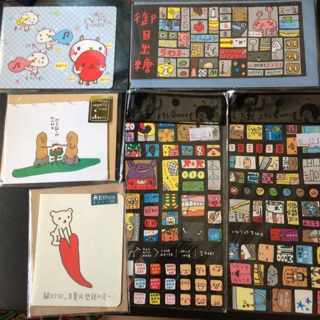 Ethos藝舍卡片和貼紙