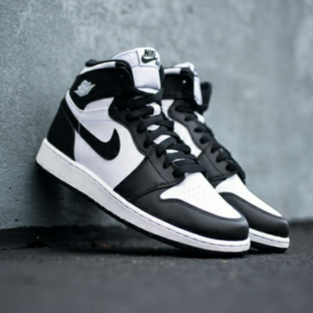 Jordan 1 oero 黑白