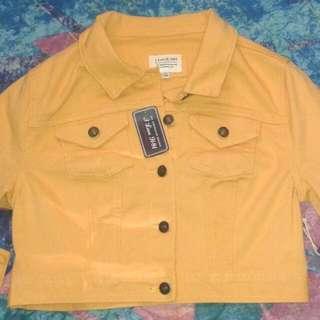 Yellow Jean Jacket