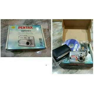 PRELOVED PENTAX OPTIO E10 - RM 200.00  *exclude 2 AA batteries & SD memory card