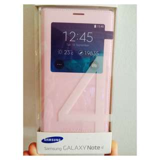 SAMSUNG GALAXY NOTE 4 - Pink Casing.