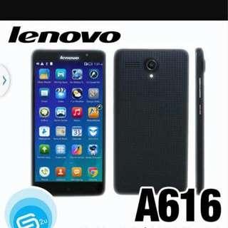 (Reserve) Lenovo A616 (10 Days Old)