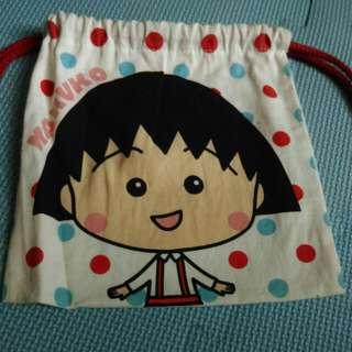 降!☺免運☺櫻桃小丸子小型束口袋