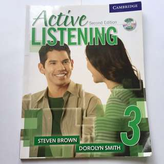 Active Listening Second Edition Student's Book3