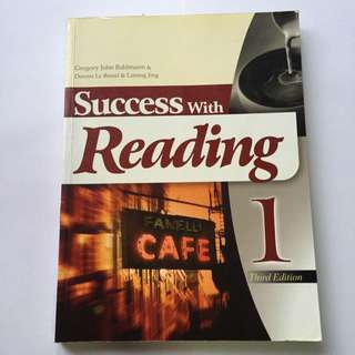 Success With Reading 1