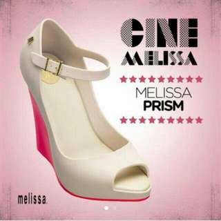 futher price reduced ! AUTHENTIC MELISSA Shoes Prism Heels
