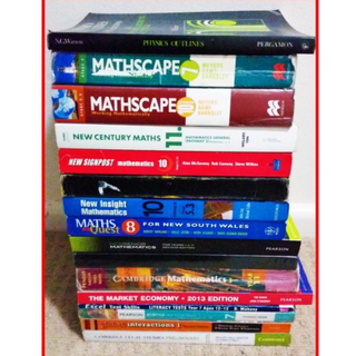 BARGAIN HIGH SCHOOL & HSC TEXTBOOKS - MASSIVE BOOK SALE - WOW!!!