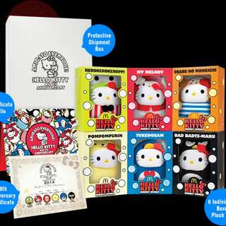 Hello Kitty 40th Anniversary Collector's Set