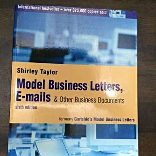 Model Business Lefters, Emails And Other Business Documents