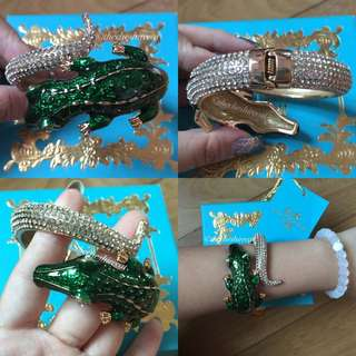 H&M Anna Dello Russo Crocodile Bangle/Cuff