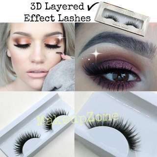 3D Layered Effect False Lashes