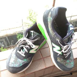 NEW BALANCE 580 MRT580CD CAMO 深藍綠 迷彩 Rev Lite輕量 復古慢跑鞋 日本限定 男鞋👟