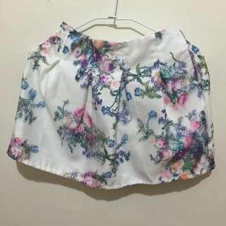 (全新)微澎立體網狀褲裙