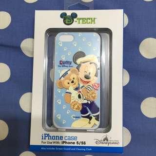全新 香港 Disney  Duffy iPhone5 5s 手機殼 硬殼